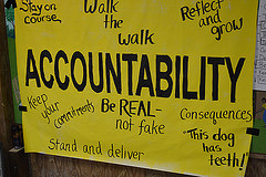 accountability sign